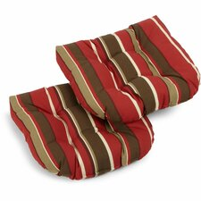Monserrat Outdoor Adirondack Chair Cushion (Set of 2)