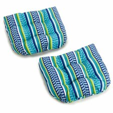 Pike Outdoor Adirondack Chair Cushion (Set of 2)