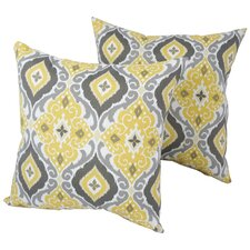 Sale Designer Outdoor Throw Pillow (Set of 2)