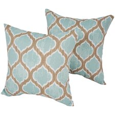Lovely Designer Outdoor Throw Pillow (Set of 2)