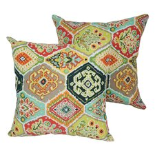 Designer Outdoor Throw Pillow (Set of 2)