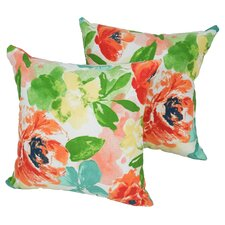 Indoor/Outdoor Throw Pillow (Set of 4)