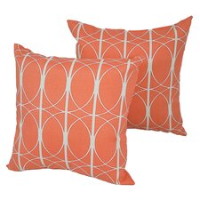 Find Designer Indoor/Outdoor Throw Pillow (Set of 4)