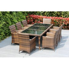 Looking for Ohana 9 Piece Dining Set with Cushions