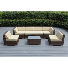 Ohana 7 Piece Deep Seating Group with Cushion