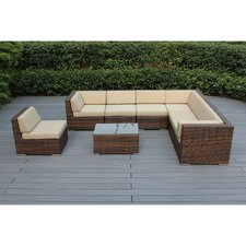 Ohana 8 Piece Seating Group with Cushions