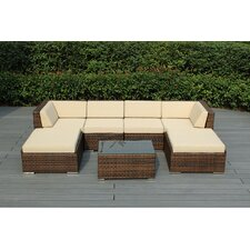 Ohana 7 Piece Deep Seating Group with Cushions
