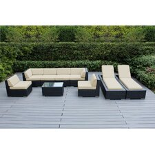 Ohana 9 Piece Seating Set with Chaise Lounges