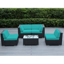 Ohana 5 Piece Deep Seating Group with Cushion