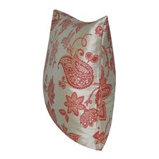 Reviews Paisley Flower Indoor/Outdoor Throw Pillow