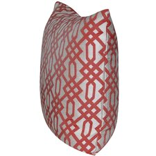 Lattice Indoor/Outdoor Throw Pillow