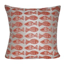 Fishes Indoor/Outdoor Throw Pillow