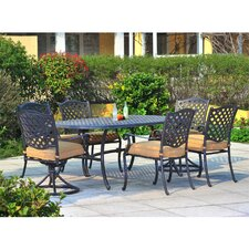 Find Largemont 7 Piece Dining Set with Cushions