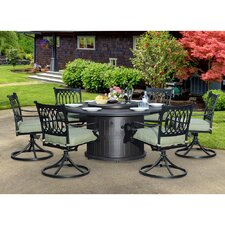 Lark 7 Piece Dining Set
