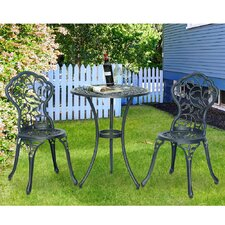 Vinely 3 Piece Bistro Set