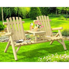 Fairbanks Wood Tete-a-Tete Adirondack Seating Group