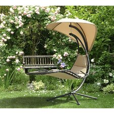 Looking for Corona Polyester Hanging Chaise Lounger with Stand