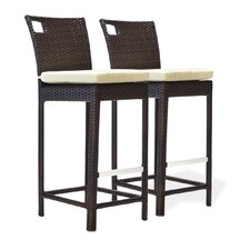 Sydney 30 Bar Stool With Cushion (Set of 2)