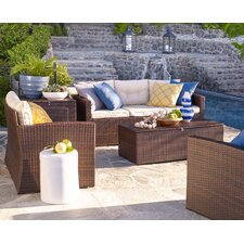 Owen 5 Piece Deep Seating Group with Cushion