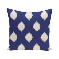 Jaclyn Geometric Print Outdoor Throw Pillow
