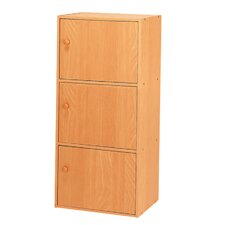 Micheal 3 Door Storage Cabinet