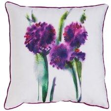 #1 Wilhelmina Watercolor Flower Indoor/Outdoor Throw Pillow