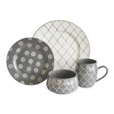 Moroccan 16 Piece Dinnerware Set