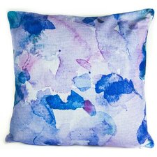 Watercolors Linen Throw Pillow