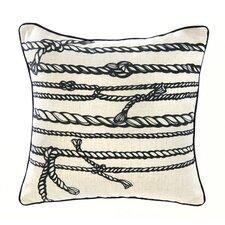 Rope Linen Throw Pillow