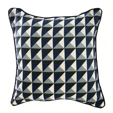 Pyramid Linen Throw Pillow
