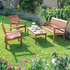 Willington 4 Piece Bench Seating Group