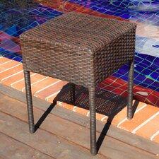 Anchorage Wicker Outdoor Accent Table