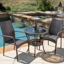 Echo Lake 3 Piece Dining Set