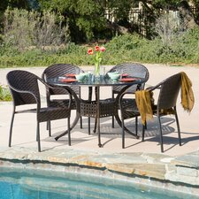 August 5 Piece Dining Set