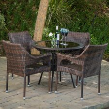 Crowley 5 Piece Dining Set