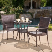 Encanto 3 Piece Bistro Set
