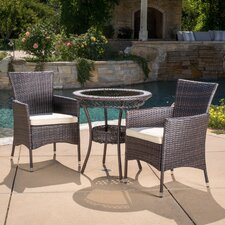 Find Spooner 3 Piece Dining Set with Cushions