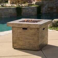 Cali Square Gas Fire Pit Table