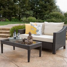 Dragoon 2 Piece Outdoor Loveseat