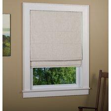 Richmond Linen Cordless Thermal Backed Roman Shade w/ Blackout Fabric