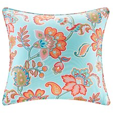 Perrysburg Floral 3M Scotchgard Outdoor Throw Pillow
