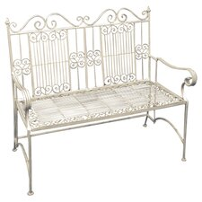 Old Rectory 2 Seater Steel Bench