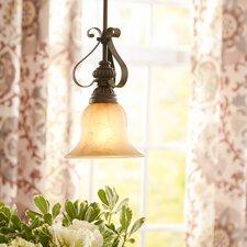 Gregory Scroll 1-Light Mini Pendant