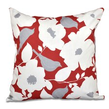 Grand Island Modfloral Outdoor Throw Pillow