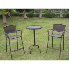 Wyndmoor 3 Piece Bar Set