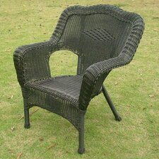 Wyndmoor  Wicker Resin Steel Deep Seated Patio Chair