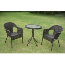 Wyndmoor  3 Piece Bistro Set
