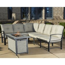 Pavilion Modular 7 Piece Seating Group with Cushion