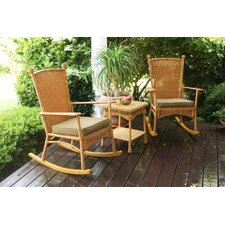 Baden 3 Piece Rocker Seating Group with Cushions