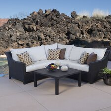 Northridge 4 Piece Seating Group with Cushion